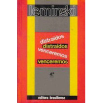 Livro Distraídos Venceremos Paulo Leminski