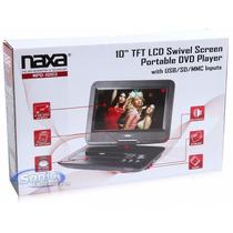 Dvd Portátil Naxa 10 Pulgadas Usb 10 Tft Lcd Swivel Screen