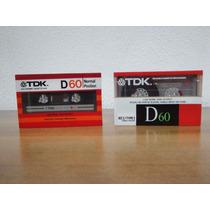 Cassette Virgenes Tdk D-60