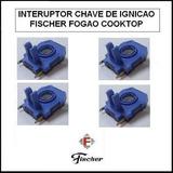 Kit 4 Chaves De Ignição Catenaria Para Fogao Cooktop Fischer