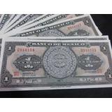 Billete 1 Un Peso Calendario Azteca Nuevo Sin Circular