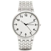 Relógio Skagen Ancher Stainless Steel Link Watch