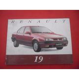 Manual Renault 19, Manual R19,