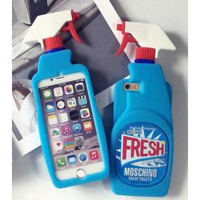 Funda Iphone 6 6s Plus Fresh Limpiador Spray Moschino