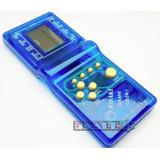 1 Mini Game Tetris Azul 132 Jogos + 2 Pilhas Grátis Retrô