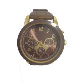 8237635e58d Relogio Feminino Dourado Emborrachado Replica X Games - Relógios De ...