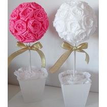 Topiarios,guirnaldas,flores Gigantes,esferas De Flores!!!