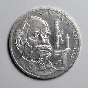 Rara Moeda Prata Da Alemanha Comemorativa 10 Marcos 1988