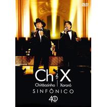 Dvd + Cd Chitãozinho E Xororó - Sinfônico / 40 Anos (989221)