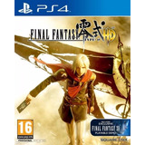 Final Fantasy Type-0 Juego Ps4 Playstation 4 Stock Fijo