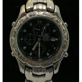 Relógio Citizen Original 6870 Com Cronômetro E Alarme