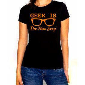 Playera Dama Geek Style New Sexy Estampado Varios Colores