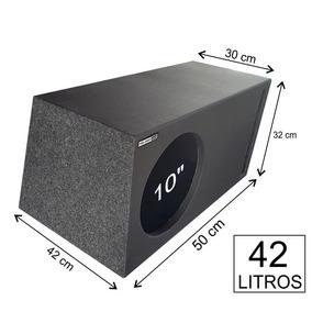 Caixa De Graves Jl Audio 10w0-4 Duto Labirinto 42 Litros Mdf