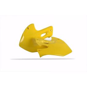 Par Aleta Tanque/radiador Polisport Rm 125/250 99-00 Amarelo