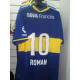 Camiseta Boca Juniors 2013 10 Roman La Ultima Que Uso