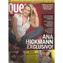 Revista Quem 413/2008 - Ana Hieckmann/brad Pitt E Angelina
