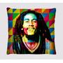 Almofadas Decorativas Personagens Bob Marley Retro