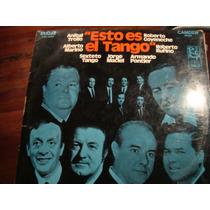 Esto Es El Tango - Troilo, Goyeneche - Vinilo Argentino