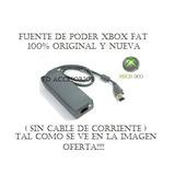 Fuente De Poder Xbox 360 Nueva (sin Cable De Corriente) Fat