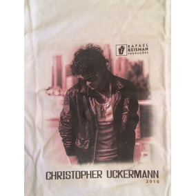 Camiseta Christopher Uckermann Oficial Original Rbd Rebelde