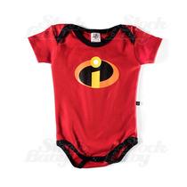 Body Infantil Os Incríveis Disney Pixar Roupas Bebe Er