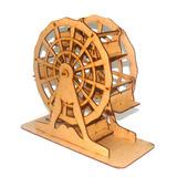 Roda Gigante Grande 6 Cadeiras Mdf Cru Artesanal