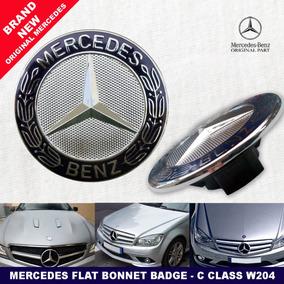 Emblema Original Capô Mercedes Benz Logotipo C180 C200 Clk