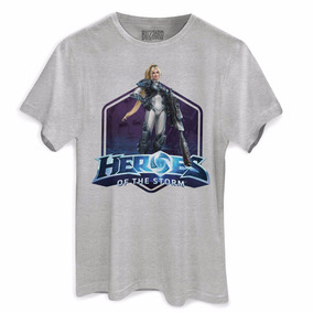 Heroes Of The Storm - Camisetas e Blusas no Mercado Livre Brasil 23a6d963efcdc