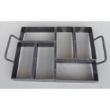 Forma Piso Concreto Peyver Bloquete 6 Blocos,20 X 10 X 6cms
