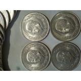 Hidalgo Cinco Pesos De Plata Ley 0.720 Fechas 1951 Al 1953