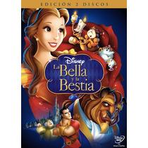 La Bella Y La Bestia Pelicula En Formato Dvd Walt Disney