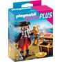 Playmobil Special Plus 4783 Pirata Con Cofre Del Tesoro