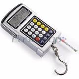 Balança Digital 50kg/20g Termômetro Relógio Trena Calculador