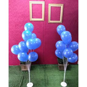 Suportes P/ Balão Que Imitam Gás Hélio 2 Pç Para 10 Balão