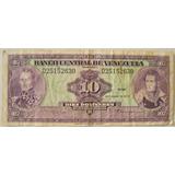Billete Venezuela 10 Bolivares 1979