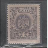 No.101-méxico Aguilita Scott 304 1 Centavo Violeta Año 1903
