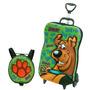 Mochila Escolar Mochilete 3d Scooby-doo Maxtoy + Lancheira