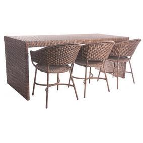 Cadeira E Bancada Junco Varanda,piscina,sala,cozinha,sacada