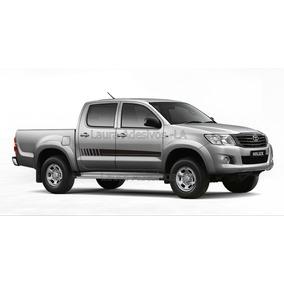 Kit Adesivo Hilux Cabine Dupla Toyota Th3 Acessórios La