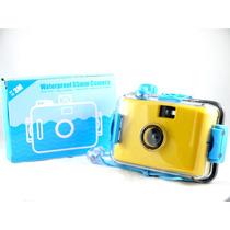 Lomo Aquapix Yellow Camera Aquática Analógica De Filme 35mm