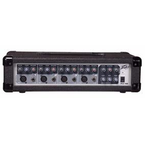 4b Mixer Peavey Mezcladora Activa Consola De 4 Canales