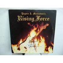 Yngwie Malmsteen Rising Force Vinilo Americano Firmado