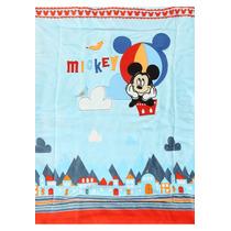Edredón Bordado Reversible Mickey Mouse Disney Baby Bebé