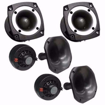 Kit 2 Driver Corneta Curta + 2 Super Tweeter 480w Rms Tsr