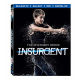 Blu Ray La Serie Divergente: Insurgente + 3d +dvd