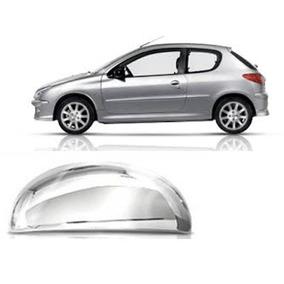 Capa De Maçaneta Externa Cromada Peugeot 206