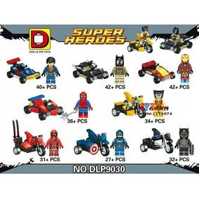 Lego Super Heróis Com Veículo!! Lacrado!