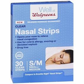 Dilatador Nasal Strips Com 30 Unidades Tam L