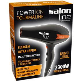Secador De Cabelo Power Íon Tourmaline 2300w 220v Salon Line