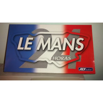 Scalextric Fly Lemans 3 Carros Pista Electrica No Lili Ledy
